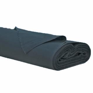 Ткань Фланель грунт, ширина 150 см, цв черный