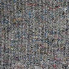Полотно холстопрошивное частопрошивное тёмное шир. 1.6 м