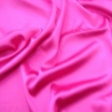Шелк искусственный 100% полиэстер, розовый ш. 220 см
