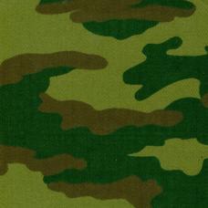 Саржа 12с-18 Камуфлированная-флора