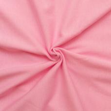 Кулирка однотонная цвет розовый