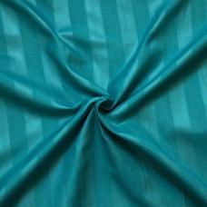Страйп-полисатин гладкокрашенный цвет изумруд 220 см