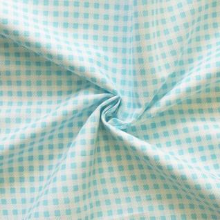 Ткань бязь плательная №1701/7 цвет бирюза
