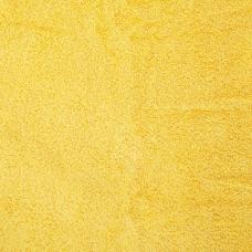Махровая ткань цвет желтый 115см.,160гр/м2(цена за кг)