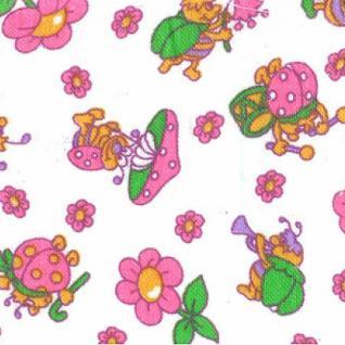 Ткань Фланель белоземельная №141-2П ширина 90 см
