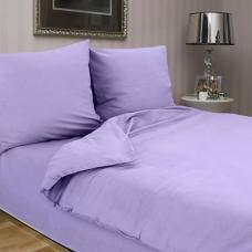 Сатин гладкокрашенный  цвет сиреневый ширина 220 см
