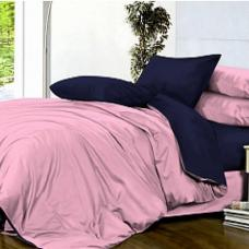 Сатин гладкокрашенный цвет розовый ширина 220 см
