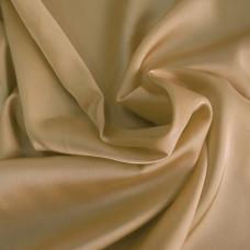 Шелк искусственный 100% полиэстер, цвет бежевый ш. 220 см