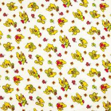 Ткань Фланель белоземельная №145-2П ширина 90 см