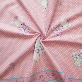 "Ткань бязь №19637/1 ""Нежность"" компаньон цвет розовый"