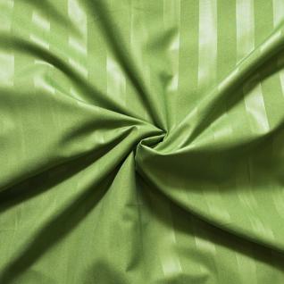 Страйп-полисатин гладкокрашенный цвет зеленый 220 см