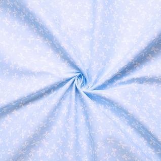 Ткань бязь плательная №1738/3 цвет голубой