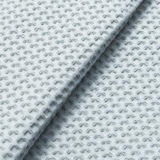 Ткань вафельное полотно г/кр цв. серый, 150 см  премиум