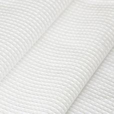Ткань вафельное полотно отбеленное, ширина 45см, плотность ГОСТ 240 гр/м2