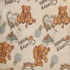 """Ткань Гобелен №27 """"Большие медведи"""" 150 см"""