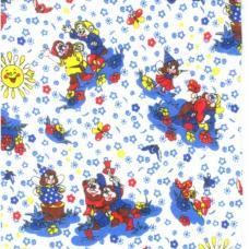 Ткань Фланель белоземельная ширина 90 см, арт. 195-2