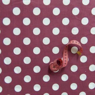 Ткань бязь плательная 1422/11 крупный горох