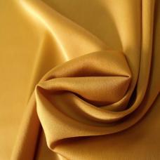 Шелк искусственный 100% полиэстер, желтый