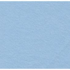 Простыня трикотажная на резинке 60*120*12 см, бледно-голубой