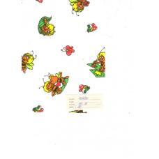 Ткань Фланель белоземельная ширина 75 см 157-1п