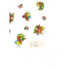 Ткань Фланель белоземельная ширина 90 см 157-2