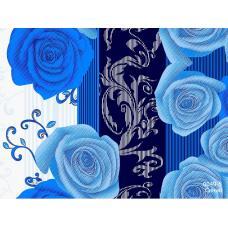 Ткань полиэстер 60 гр 0049-5 Синий