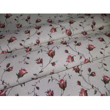 Ткань полулен 4074-1 ш. 150 см 30% лен, 70% хлопок