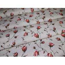 Ткань полулен 4074-2 ш. 150 см 30% лен, 70% хлопок