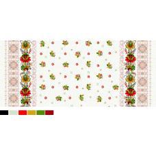 Ткань вафельное полотно 541-1П вышиванка бз