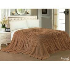 Ткань Шиншила 265 гр, ш. 222 см коричневая (цена за кг)