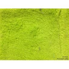 Ткань Велсофт гл/крашенная 260 гр, ш.180 см зеленая лайм (цена за кг)