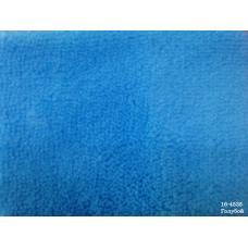 Ткань Велсофт гл/крашенная 260 гр, ш.180 см голубая (цена за кг)